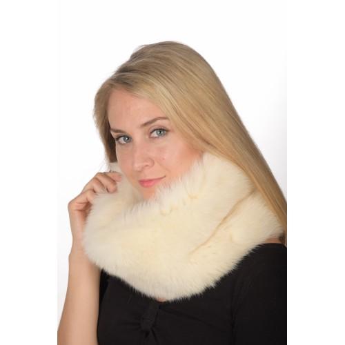 ottenere a buon mercato compra meglio prezzo all'ingrosso Scaldacollo in volpe bianca